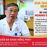 Đăng ký khám trĩ cùng Bác sĩ cao cấp Hoàng Đình Lân