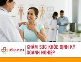 gói khám sức khỏe định kỳ BV Hồng Phát