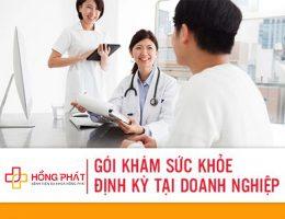 Gói khám sức khỏe định kỳ doanh nghiệp