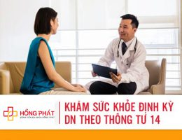 Khám sức khỏe định kỳ doanh nghiệp theo thông tư 14