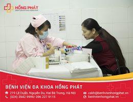 quy trình khám tại bệnh viện đa khoa hồng phát
